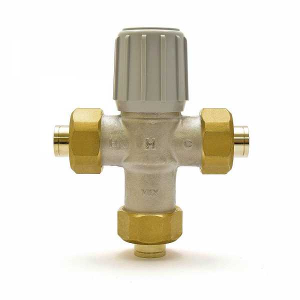"1/2"" Union Sweat Mixing Valve (Lead-Free), 70-120F"
