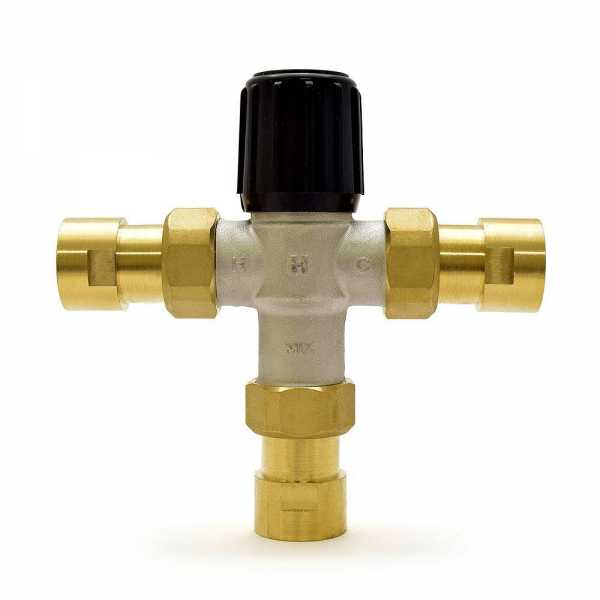 "3/4"" Union Threaded Mixing Valve (Heating Valve), 70-180F"