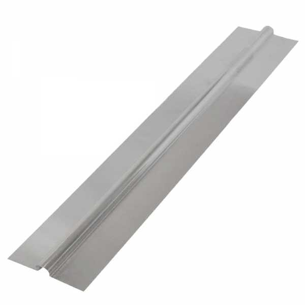 "4ft long x 4"" wide, 1/2"" PEX Aluminum Heat Transfer Plates (100/box), U-Shaped, Imported"