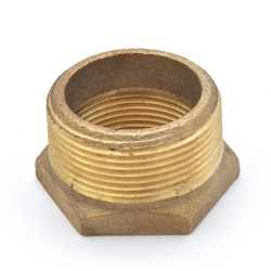 "1-1/2"" x 1-1/4"" FPT Brass Bushing, Lead-Free"