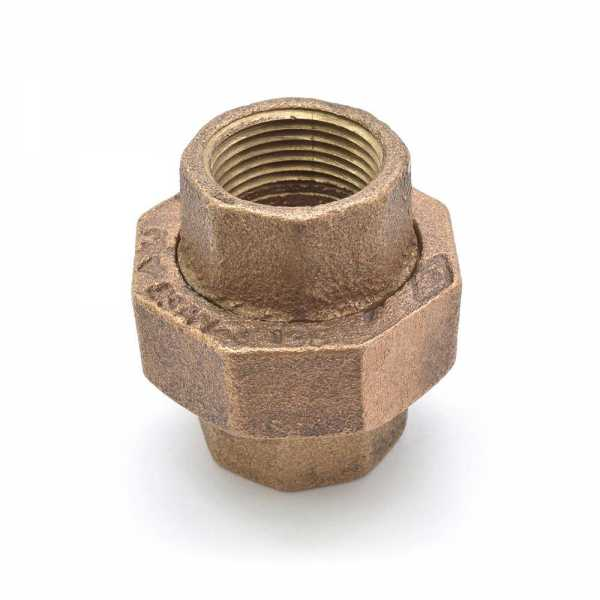 "3/4"" FPT Brass Union, Lead-Free"