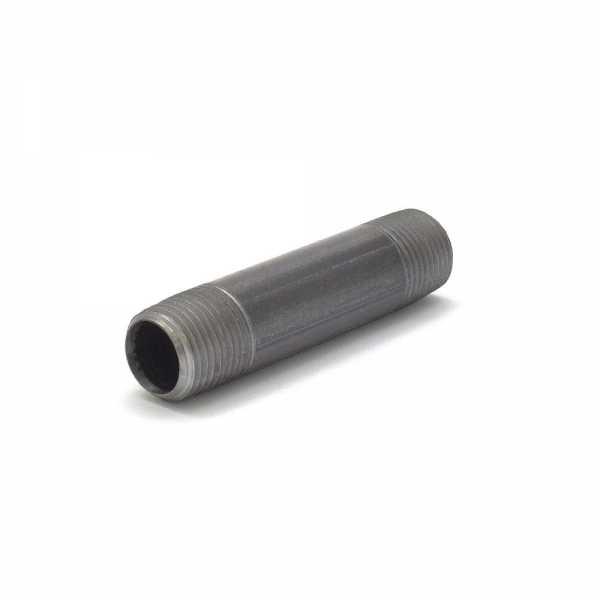 """Everhot BL-012X312 1/2"""" x 3-1/2"""" Black Pipe Nipple"""