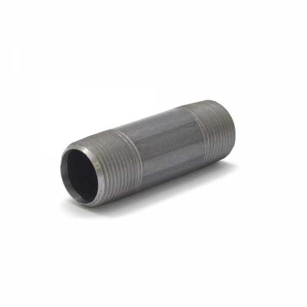 "Everhot BL-034X3 3/4"" x 3"" Black Pipe Nipple"