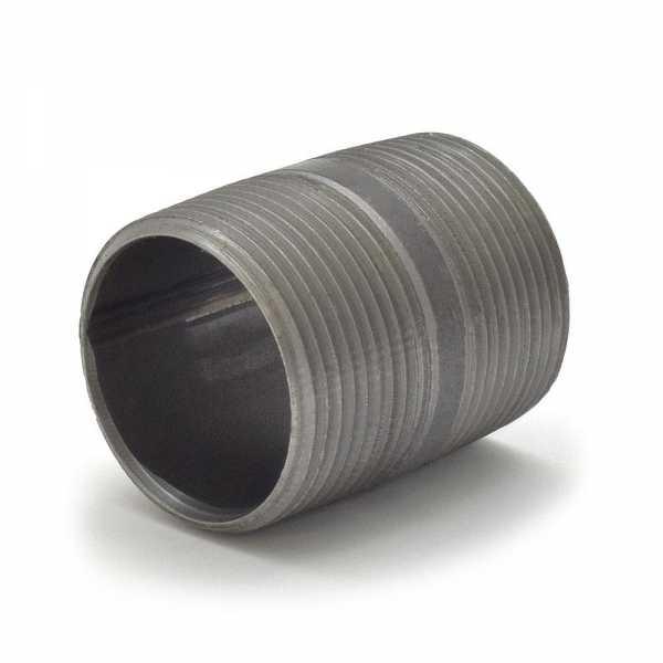 """Everhot BL-114X2 1-1/4"""" x 2"""" Black Pipe Nipple"""