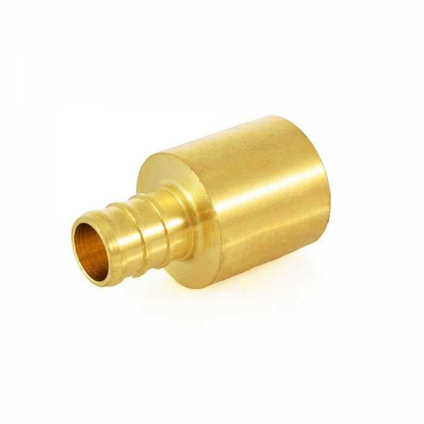 """1/2"""" PEX x 3/4"""" Copper Fitting Adapter"""