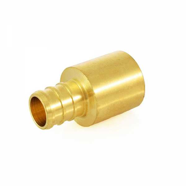 """5/8"""" PEX x 3/4"""" Copper Fitting Adapter"""