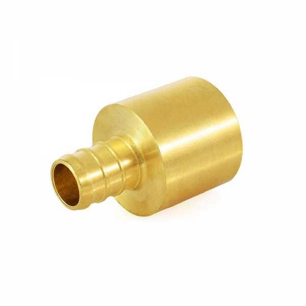 "1/2"" PEX x 3/4"" Copper Pipe Adapter"