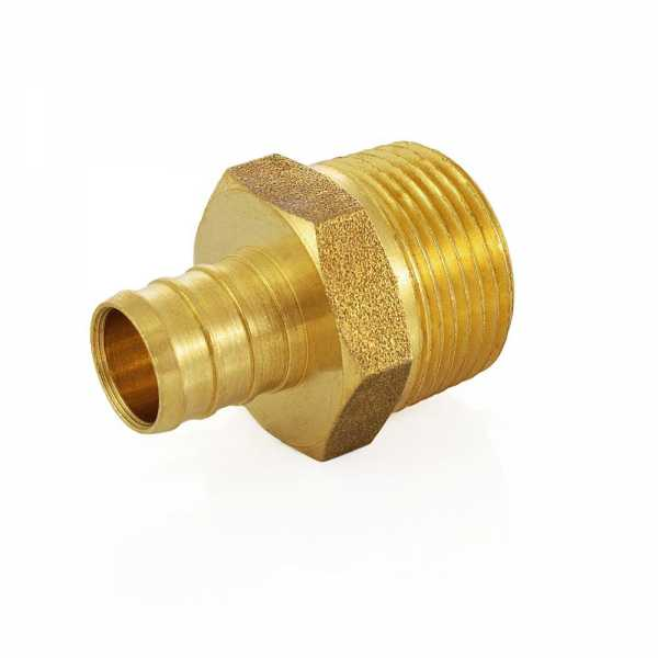"5/8"" PEX x 3/4"" Male Threaded Adapter"