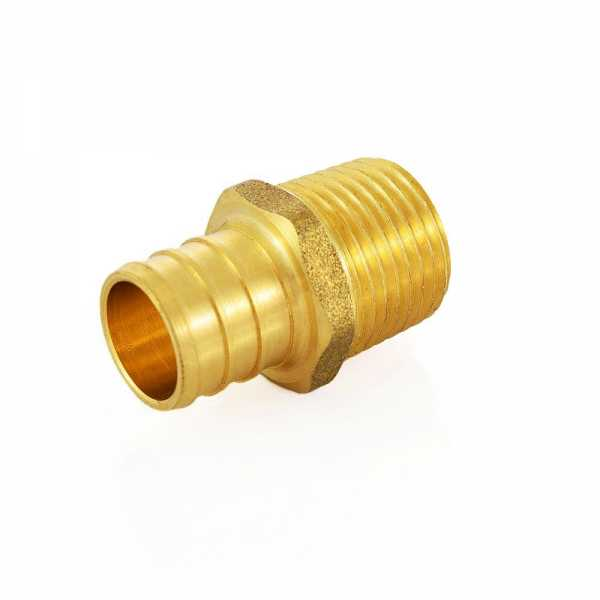 "3/4"" PEX x 1/2"" Male Threaded Adapter"
