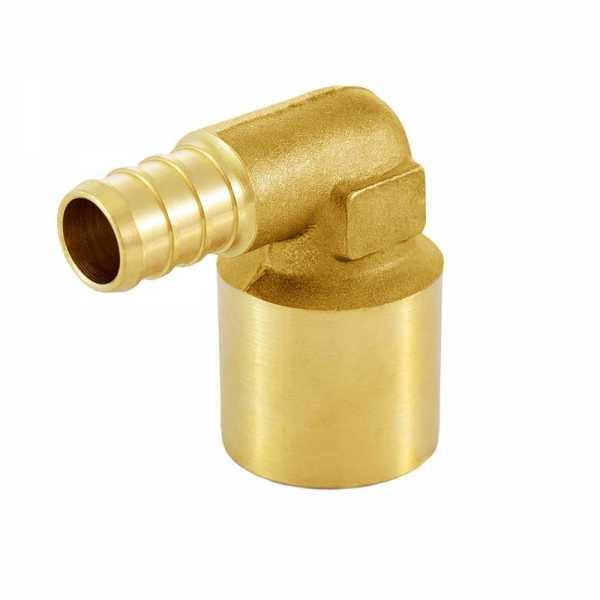 "1/2"" PEX x 3/4"" Copper Pipe Elbow"