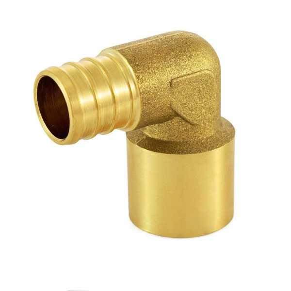 "3/4"" PEX x 3/4"" Copper Pipe Elbow"