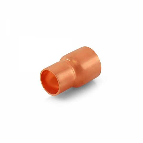 "1/2"" x 3/8"" Reducing Copper Coupling"