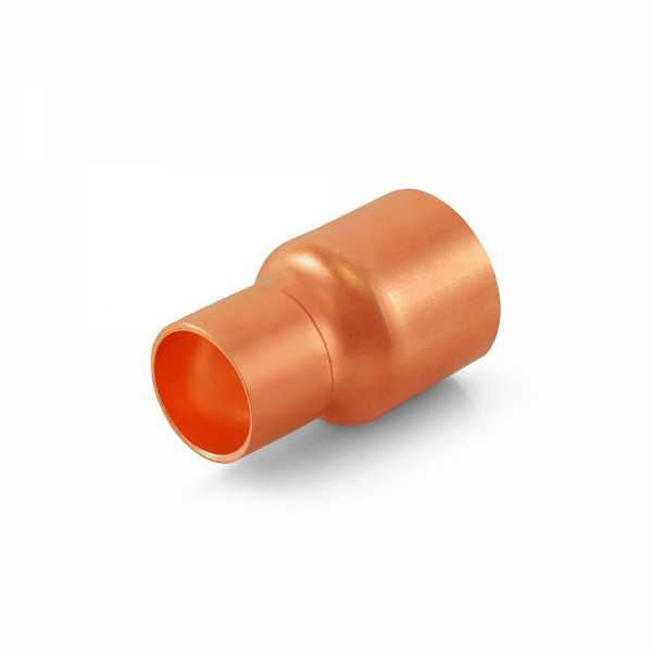 "3/4"" x 1/2"" Reducing Copper Coupling"