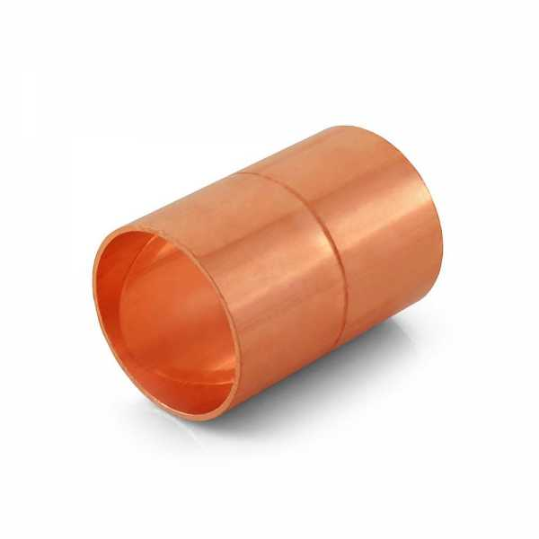 "1-1/4"" Copper Coupling"