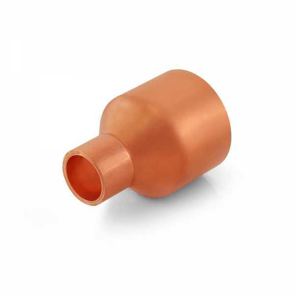 "1-1/4"" x 1/2"" Reducing Copper Coupling"