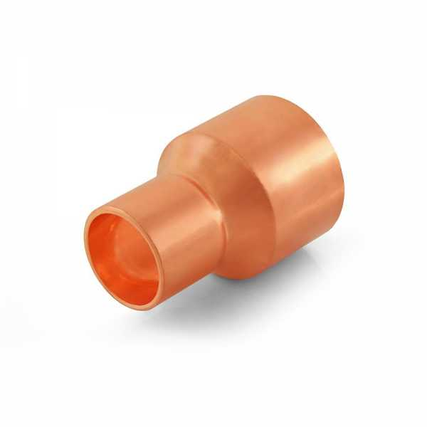 "1-1/4"" x 3/4"" Reducing Copper Coupling"