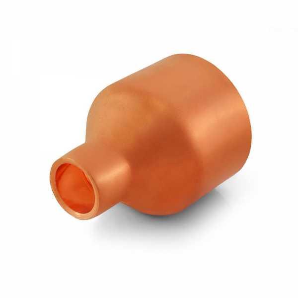 "1-1/2"" x 1/2"" Reducing Copper Coupling"