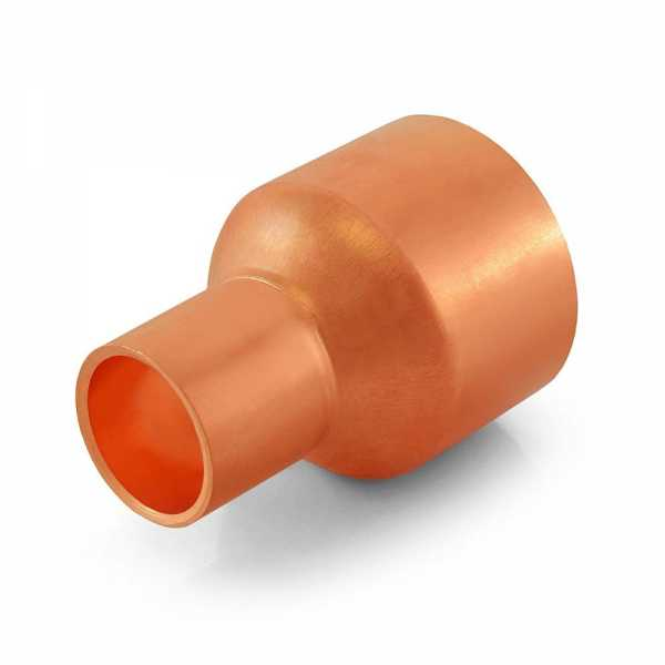 "1-1/2"" x 3/4"" Reducing Copper Coupling"