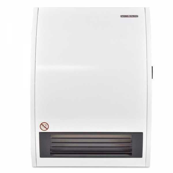 Stiebel Eltron CK 20 E, Wall-Mounted Electric Fan Space Heater, 2000/1500W, 240/208V