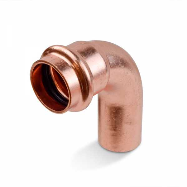 "3/4"" Press Copper 90° Street Elbow, Imported"