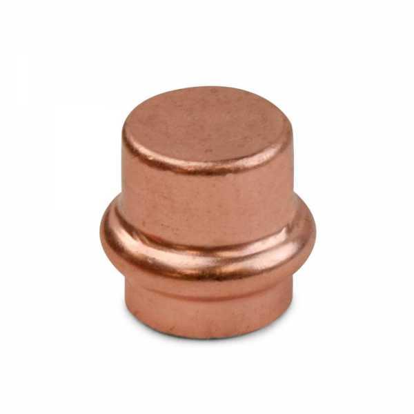 "1/2"" Press Copper Cap, Imported"