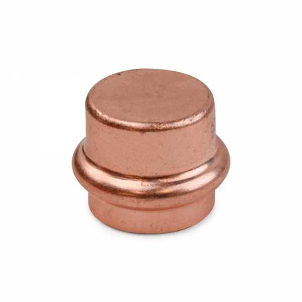 "3/4"" Press Copper Cap, Imported"