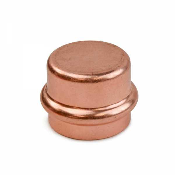 "1"" Press Copper Cap, Imported"