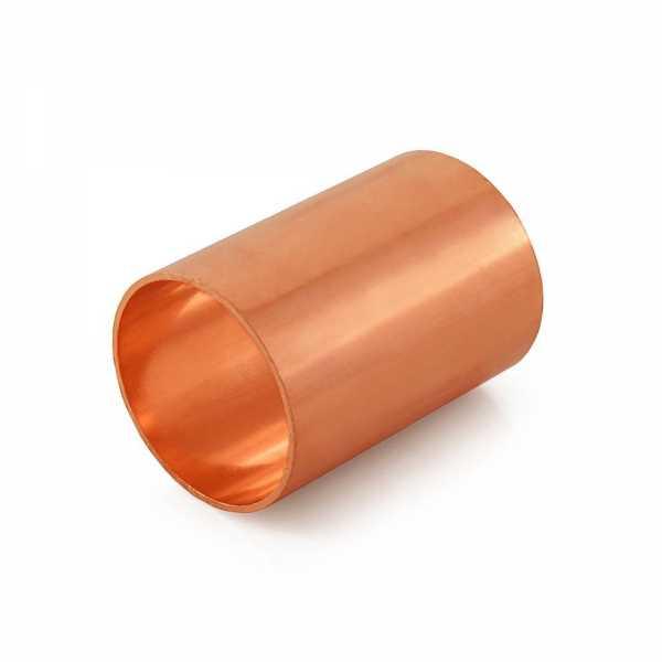 "1-1/4"" Copper Slip Coupling"