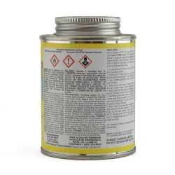 EverTUFF Step-1 CPVC CTS Cement w/ Dauber, Med-Body Fast-Set, Yellow, 8oz