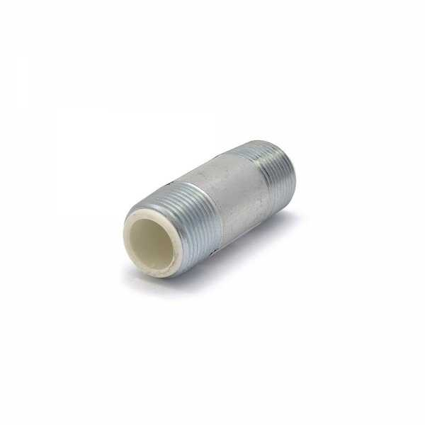 "3/4"" x 2-1/2"" Galvanized (Dielectric) Pipe Nipple"