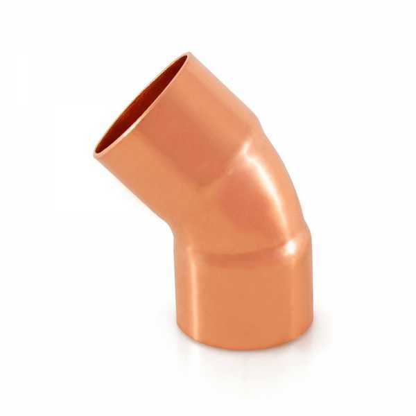 "1-1/4"" Copper, 45° Elbow"