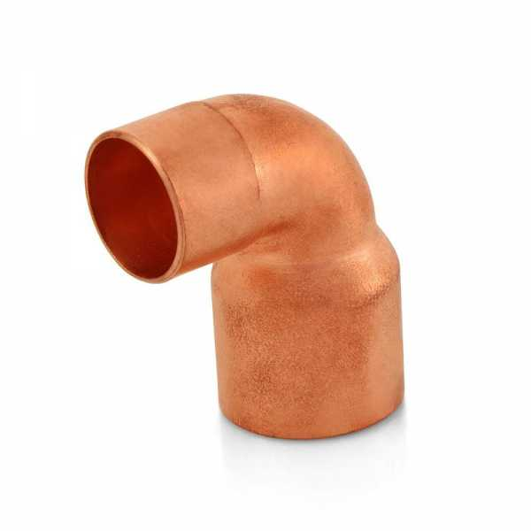"3/4"" x 1"" Copper 90° Reducing Elbow"