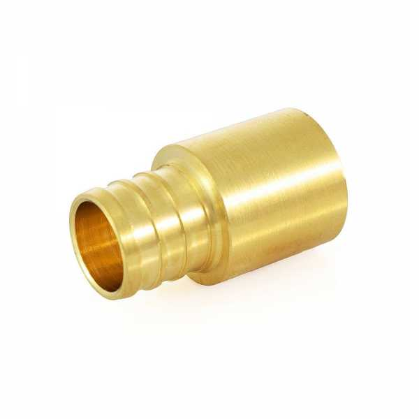 "3/4"" PEX x 3/4"" Copper Fitting Adapter, Lead-Free"
