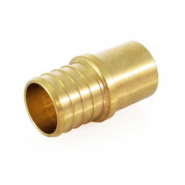 "1"" PEX x 3/4"" Copper Fitting Adapter, Lead-Free"