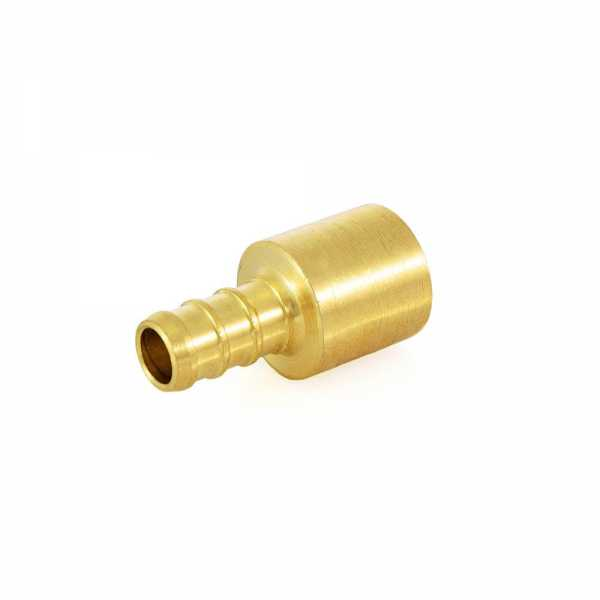 "3/8"" PEX x 1/2"" Copper Fitting Adapter, Lead-Free"