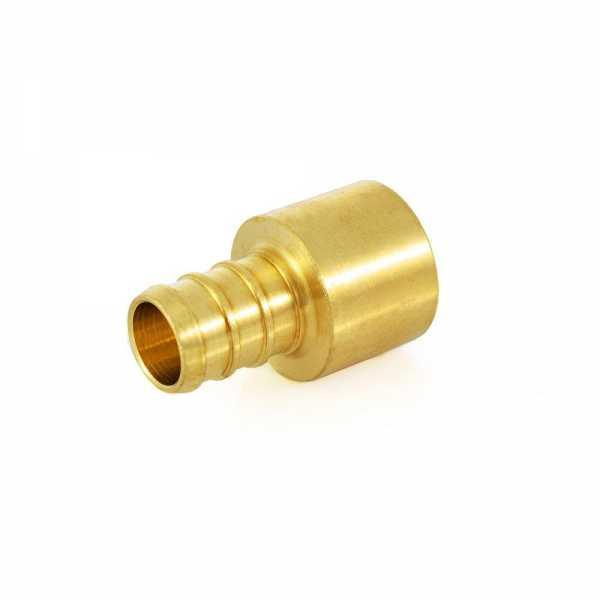 """1/2"""" PEX x 1/2"""" Copper Pipe Adapter, Lead-Free"""
