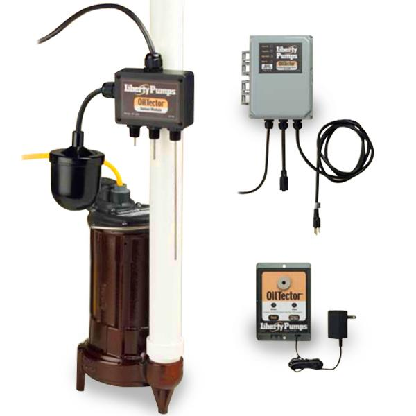 Automatic Elevator Sump Pump System w/ OilTector Control, 1/3HP, 115V