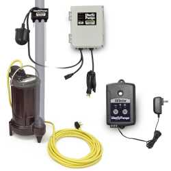 Automatic Elevator Sump Pump System w/ OilTector Control, 1/2HP, 115V