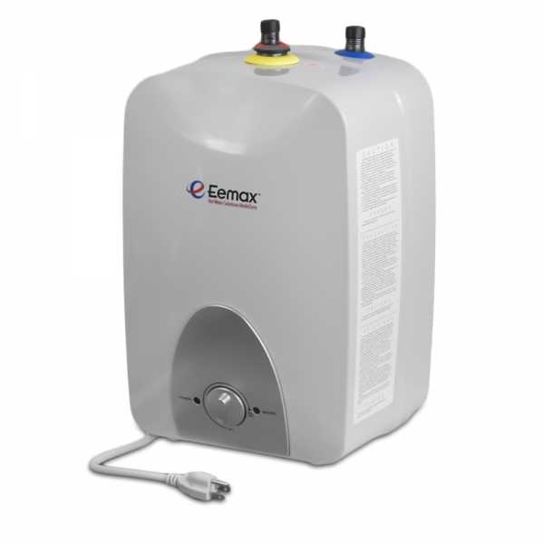 EeMax EMT4, MiniTank Electric Water Heater, 4-Gallon, 120V