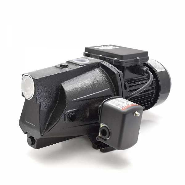1 HP Shallow Well Jet Pump w/ Pressure Switch, 115V/230V, Cast Iron