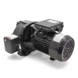 Deep Well Jet Pump w/ Pressure Switch, 1/2HP, 115/230V, Cast Iron