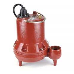 Manual Sump/Effluent Pump, 1/3HP, 25' cord, 208/240V