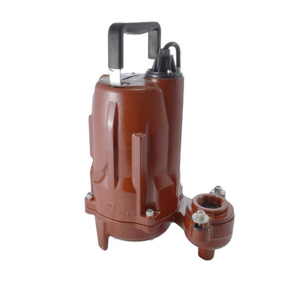 Manual Effluent Pump, 35'' cord, 6/10 HP, 440/480V, 3-Phase