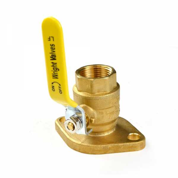 "1"" Threaded Isolator Flange Valve"