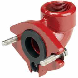 Grinder Pump Flanged 90° Elbow