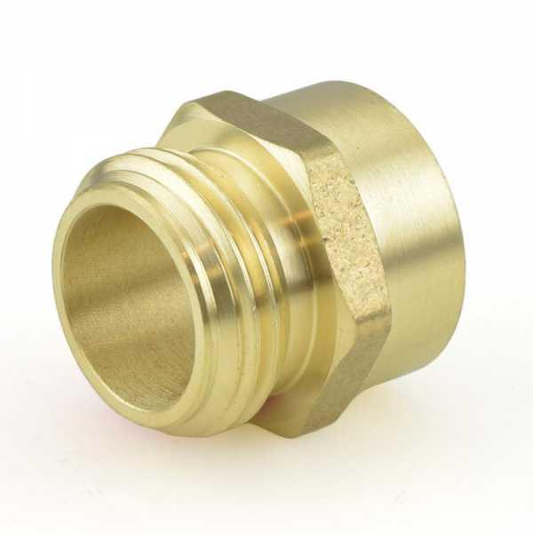 """3/4"""" MGH x 3/4"""" FIP Brass Adapter"""