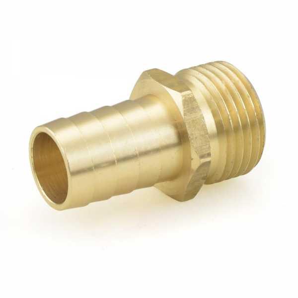 """3/4"""" MGH x 3/4"""" Hose Barb Brass Adapter"""
