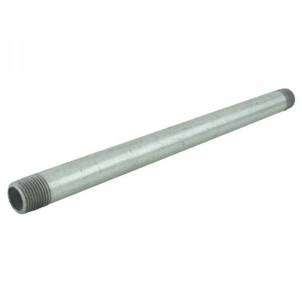"1/2"" x 12"" Galvanized Steel Pipe Nipple"