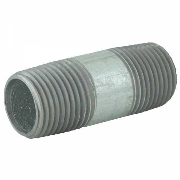 "1/2"" x 2"" Galvanized Steel Pipe Nipple"