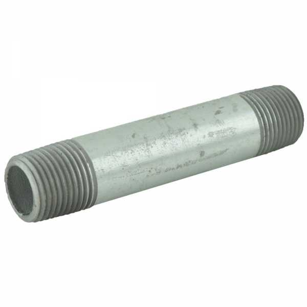 "1/2"" x 4"" Galvanized Steel Pipe Nipple"